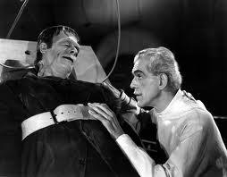 Frankenstein et sa création