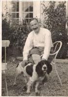 Stefan Zweig dans le jardin