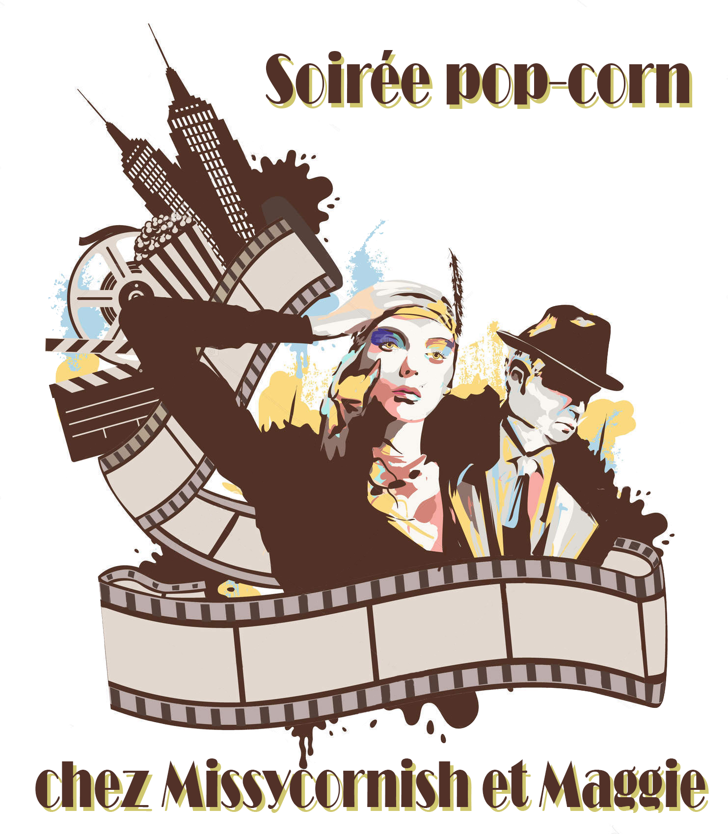 Soirée pop corn chez Missycornish et Maggie &